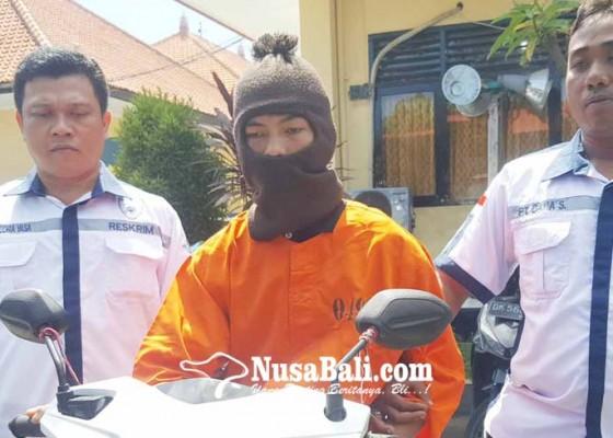 Nusabali.com - curi-motor-polisi-amankan-abg