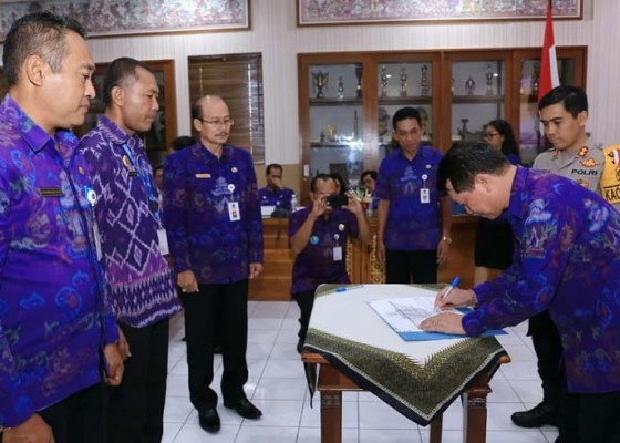 Nusabali.com - pemkab-klungkung-canangkan-zona-integritas