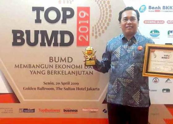 Nusabali.com - pdam-karangasem-raih-top-bumd-nasional