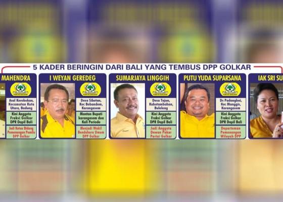 Nusabali.com - 5-kader-dari-bali-tembus-dpp-golkar