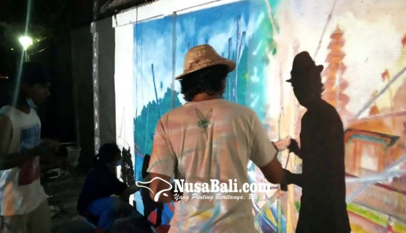 www.nusabali.com-mural-hiasi-sisi-tukad-rangda-sesetan