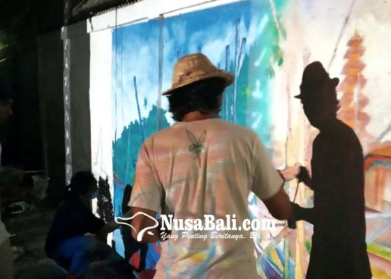 Nusabali.com - mural-hiasi-sisi-tukad-rangda-sesetan