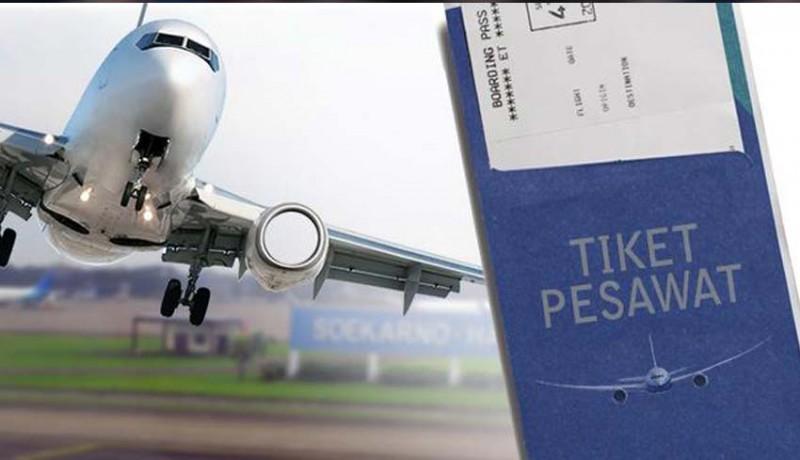www.nusabali.com-tiket-pesawat-mahal-ekonomi-melambat
