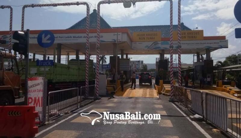 www.nusabali.com-persiapan-angkutan-lebaran-asdp-tambah-8-loket-kendaraan