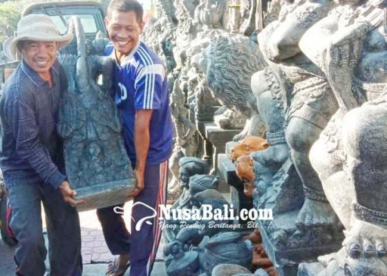Nusabali.com - ekspor-produk-kerajinan-batu-padas-lesu