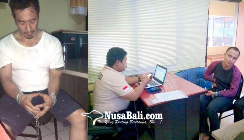www.nusabali.com-ismaya-ditangkap-saat-ambil-tempelan-shabu