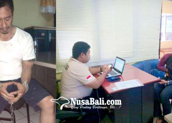 Nusabali.com - ismaya-ditangkap-saat-ambil-tempelan-shabu