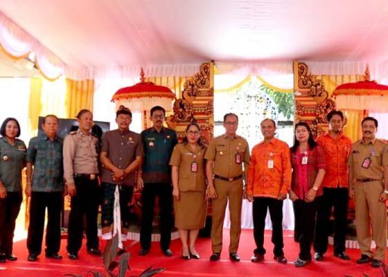 Nusabali.com - evaluasi-penilaian-lomba-perpustakaan-desa-tingkat-provinsi-bali-di-kabupaten-badung
