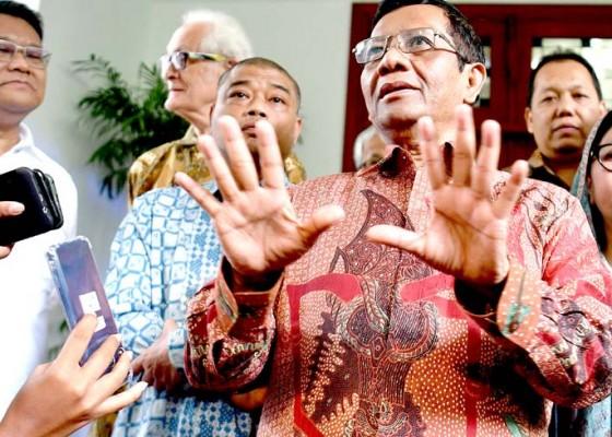 Nusabali.com - prabowo-enggan-ke-mk-mahfud-sebut-25-mei-selesai