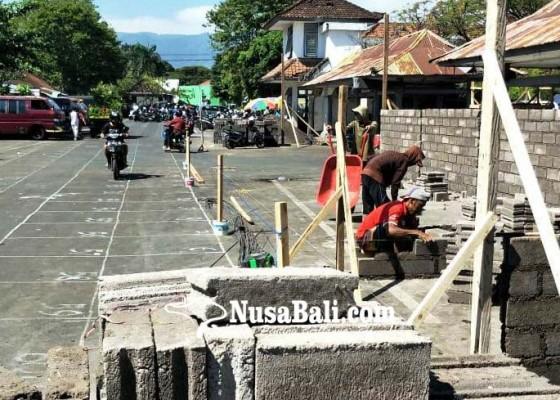 Nusabali.com - pasar-darurat-mulai-dibangun