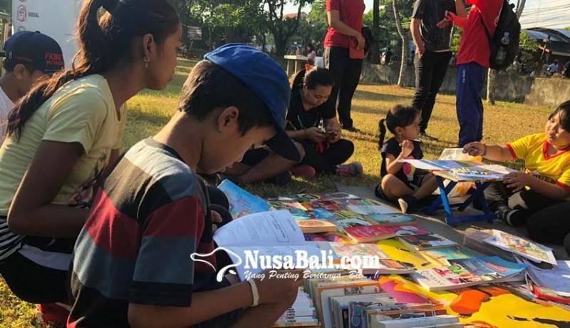 www.nusabali.com-turun-tangan-hidupkan-literasi-sejak-dini