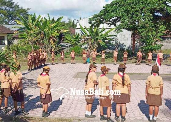 Nusabali.com - latihan-bersama-pramuka-gugus-karangasem-ii