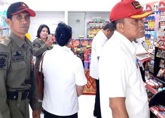 Nusabali.com - satpol-pp-pemkab-badung-temukan-21-toko-modern-belum-kantongi-izin
