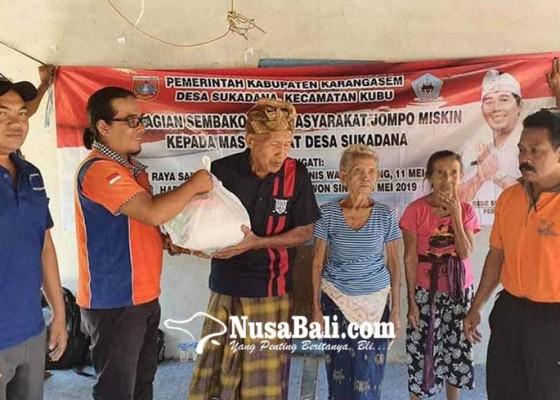 Nusabali.com - lansia-di-sukadana-dibantu-sembako