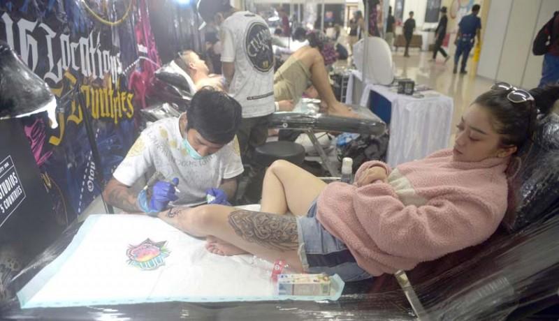 Nusabali Com Bali Tattoo Expo 2019 Diikuti Berbagai Negara