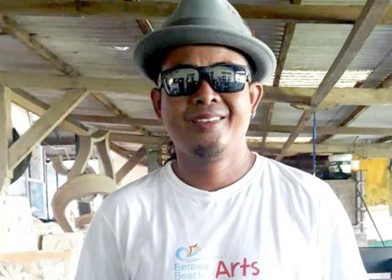 Nusabali.com - pemikiran-putrayasa-dalam-patung-gurita-raksasa