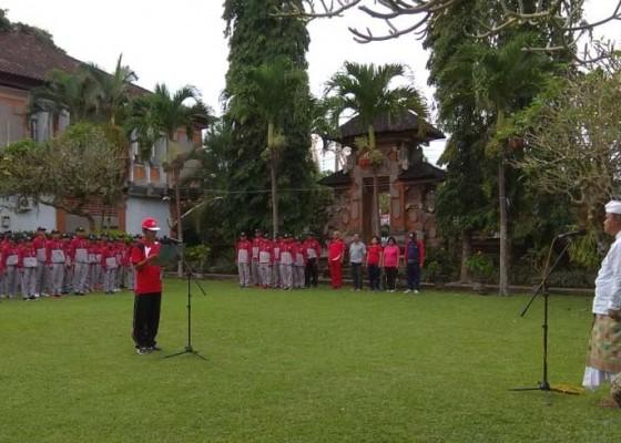 Nusabali.com - bangli-terjunkan-250-atlet-di-porjar-bali