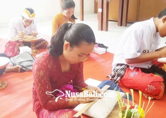 Nusabali.com - digelar-perdana-lomba-nyastra-sepi-peserta