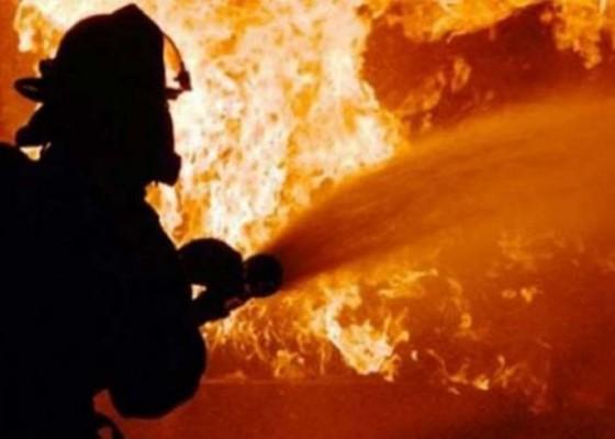 Nusabali.com - bale-bandung-terbakar-karena-lupa-padamkan-obat-nyamuk-bakar