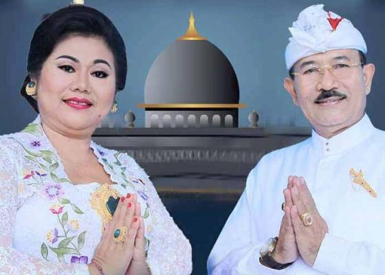 Nusabali.com - idul-fitri-bupati-mas-sumatri-ingatkan-saling-memaafkan