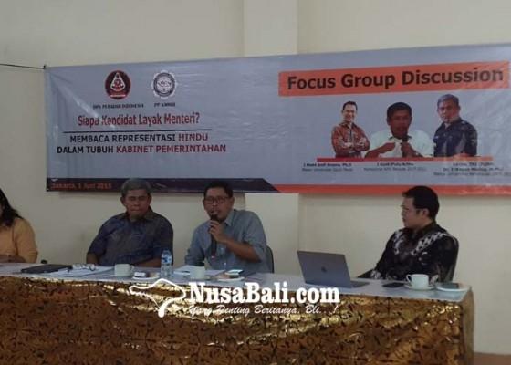 Nusabali.com - eks-ketum-peradah-sodorkan-5-kandidat-menteri-dari-hindu