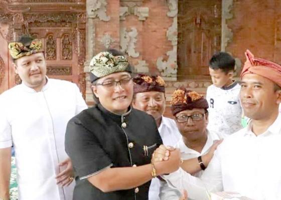 Nusabali.com - bupati-giri-prasta-hadiri-nyekah-massal-banjar-adat-dangin-peken-penarungan-mengwi