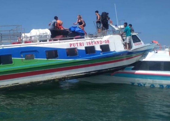 Nusabali.com - dua-fast-boat-tabrakan-di-perairan-serangan-4-luka-berat
