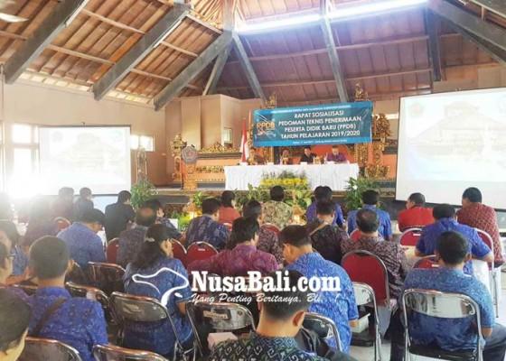 Nusabali.com - disdikpora-klaim-daya-tampung-smp-aman