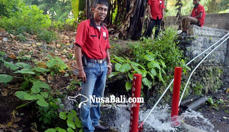 Nusabali Com Berhasil Ciptakan Pompa Air Tanpa Tenaga Listrik Dan Bbm