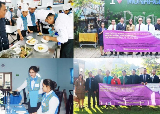 Nusabali.com - 2213-peserta-ikuti-uji-kompetensi-x-lsp-lpk-monarch-bali