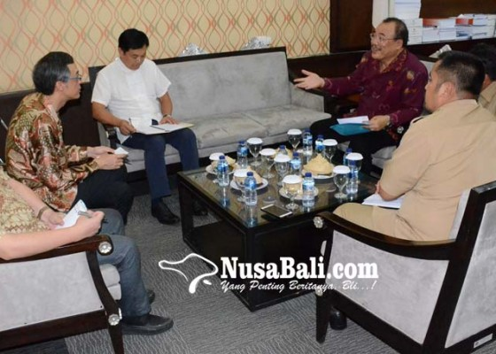 Nusabali.com - konjen-rrt-temui-wakil-ketua-dprd-bali