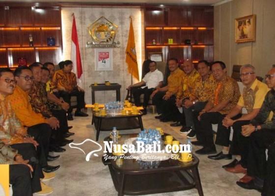 Nusabali.com - golkar-bali-dukung-airlangga-jadi-ketum-lagi