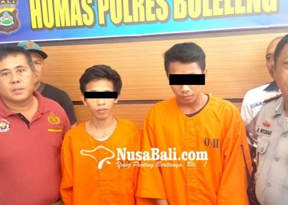 Nusabali.com - dua-bersaudara-kompak-curi-motor-di-kafe