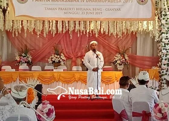 Nusabali.com - 3000an-peserta-akan-hadiri-paruman-agung-dharmopadesa