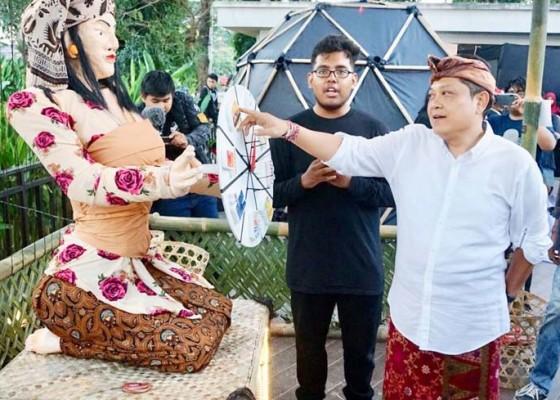 Nusabali.com - rai-mantra-apresiasi-pameran-seni-instalasi-std-bali