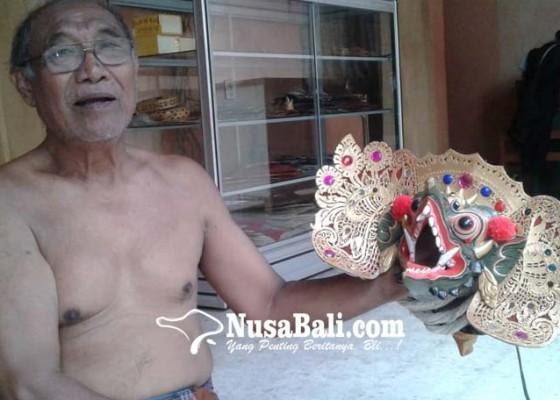 Nusabali.com - perajin-barong-i-wayan-reka-layak-dipertimbangkan-dapat-wija-kusuma