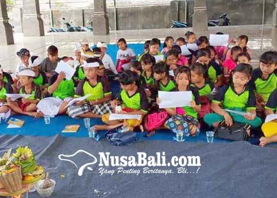 Nusabali.com - desa-padangbai-gelar-pasraman