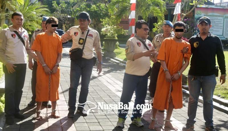 www.nusabali.com-satu-tersangka-dicokok-di-rumah-sakit-satunya-lagi-di-hotel