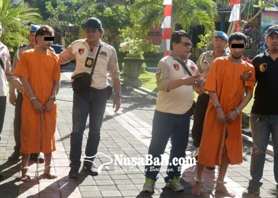 Nusabali.com - satu-tersangka-dicokok-di-rumah-sakit-satunya-lagi-di-hotel