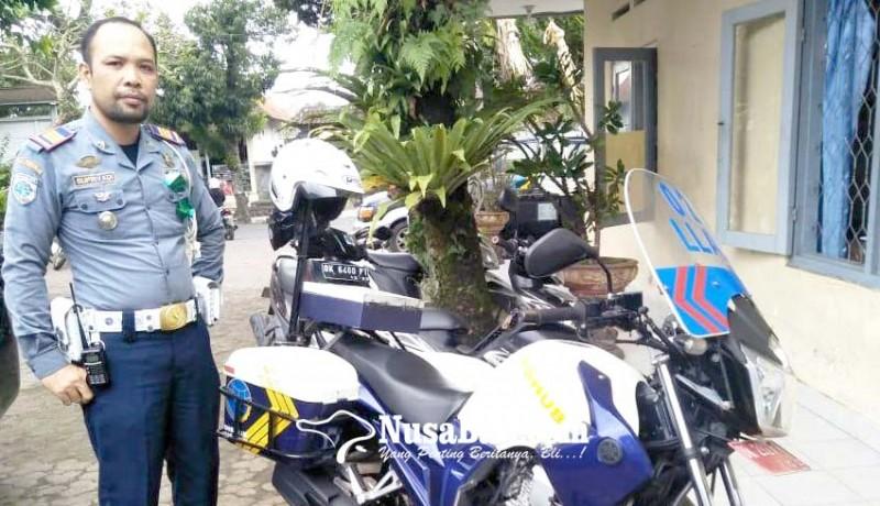 www.nusabali.com-dishub-patroli-dengan-kendaraan-pribadi