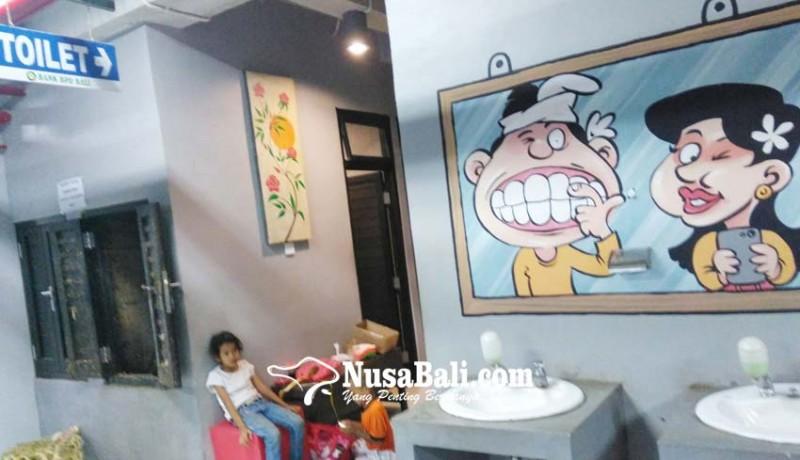 www.nusabali.com-baru-enam-bulan-beroperasi-pasar-badung-banyak-kerusakan