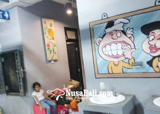 Nusabali.com - baru-enam-bulan-beroperasi-pasar-badung-banyak-kerusakan
