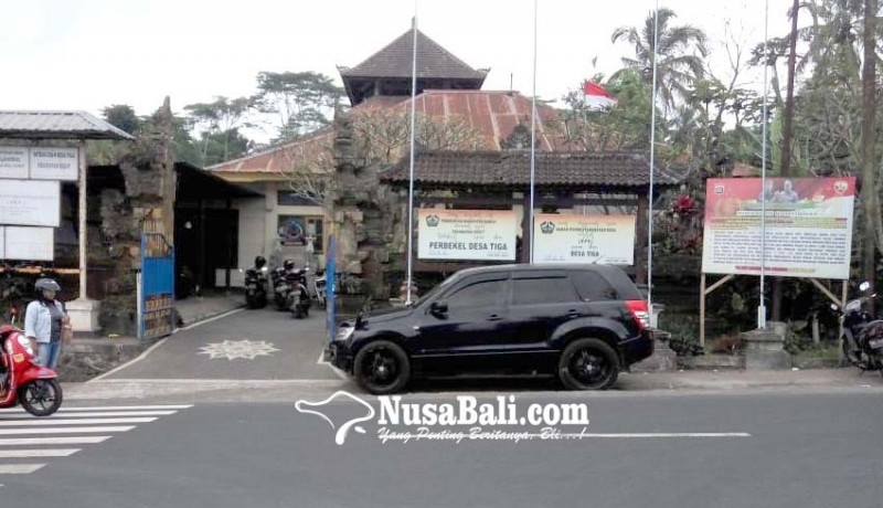 Nusabali Com Kantor Desa Tiga Kurang Representatif
