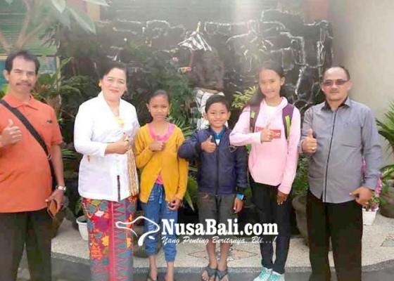 Nusabali.com - kemenag-lepas-3-siswa-ke-jambore-nasional