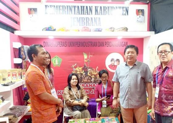 Nusabali.com - produk-ukm-jembrana-tampil-di-apkasi-otonomi-expo