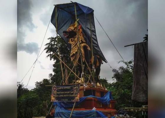 Nusabali.com - lembu-setinggi-75-meter-akan-disunggi-500-orang