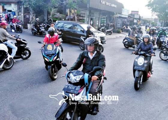 Nusabali.com - krodit-simpang-taman-pancing-akan-dipasang-road-barrier