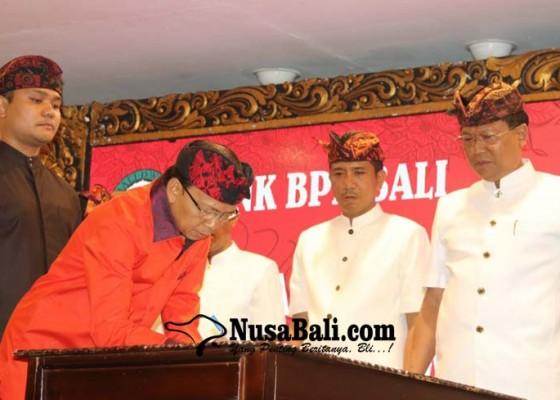 Nusabali.com - koster-harap-bpd-bali-jadi-agen-pembangunan