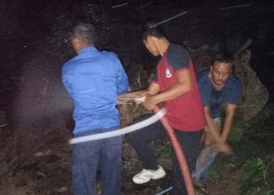 Nusabali.com - gudang-kayu-milik-anggota-dprd-terbakar