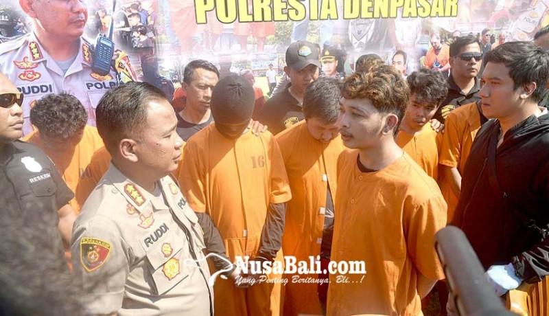www.nusabali.com-9-tersangka-to-curat-dan-curanmor-diringkus